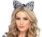 Zebra Print Ears (24867)