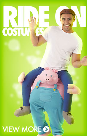 Piggy Back & Ride On Costumes