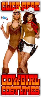 click here for Ladies Cowgirl costumes
