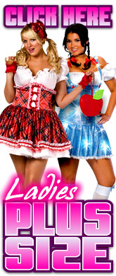 click here for Ladies Plus Size costumes