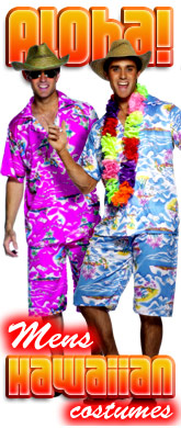 click here for Mens Hawaiian costumes