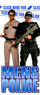 click here for Mens Police costumes